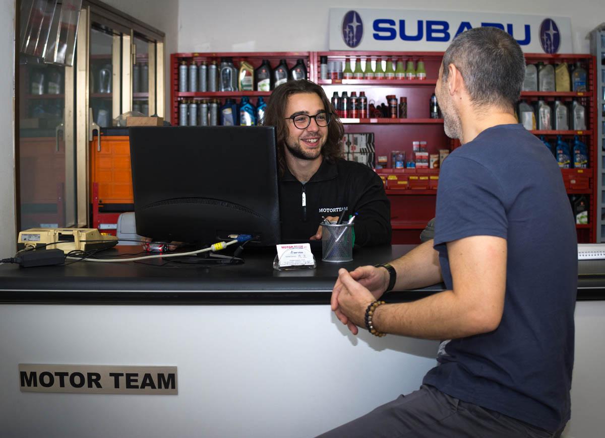 Ingresso staff Motor team