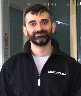 Staff Motor Team Roma